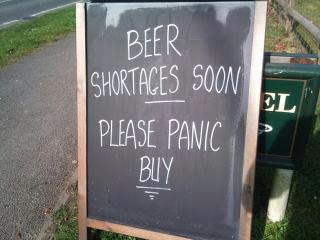 Beer Shortages