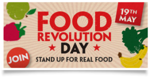 Food Revolution Badge