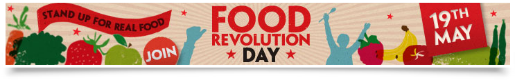 Food Revolution Day Banner