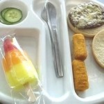 School Dinner - Health Rating 2 out of 10