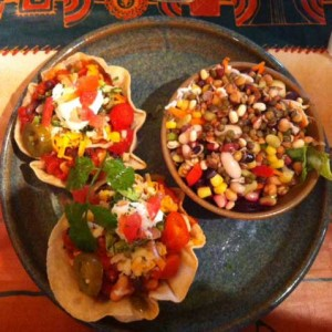 6 bean chilli tostados