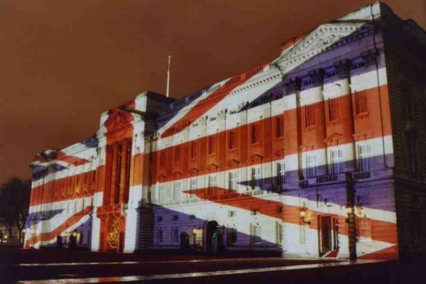 Buckingham Palace Union Jack