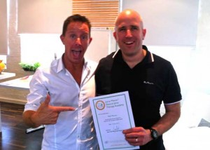 Juicemaster Juice Academy Certificate with Jason Vale