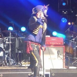 Adam Ant Camp Bestival 2012
