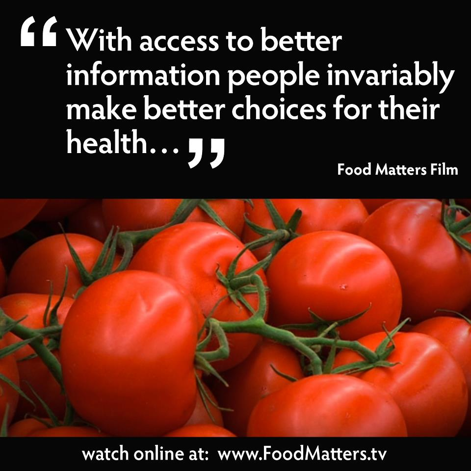 Watch 'Food Matters' Online For Free!