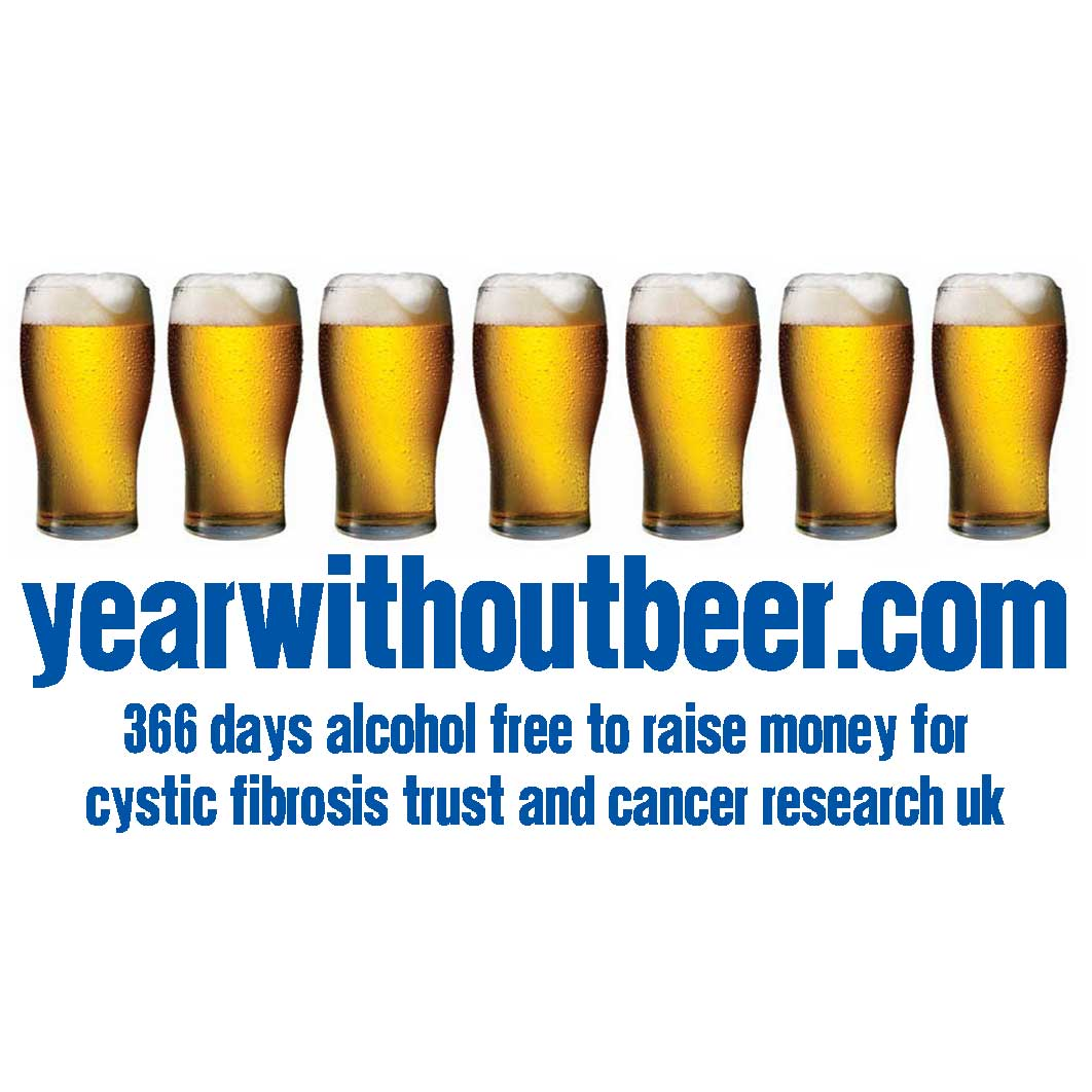 Please Sponsor My Year Without Beer