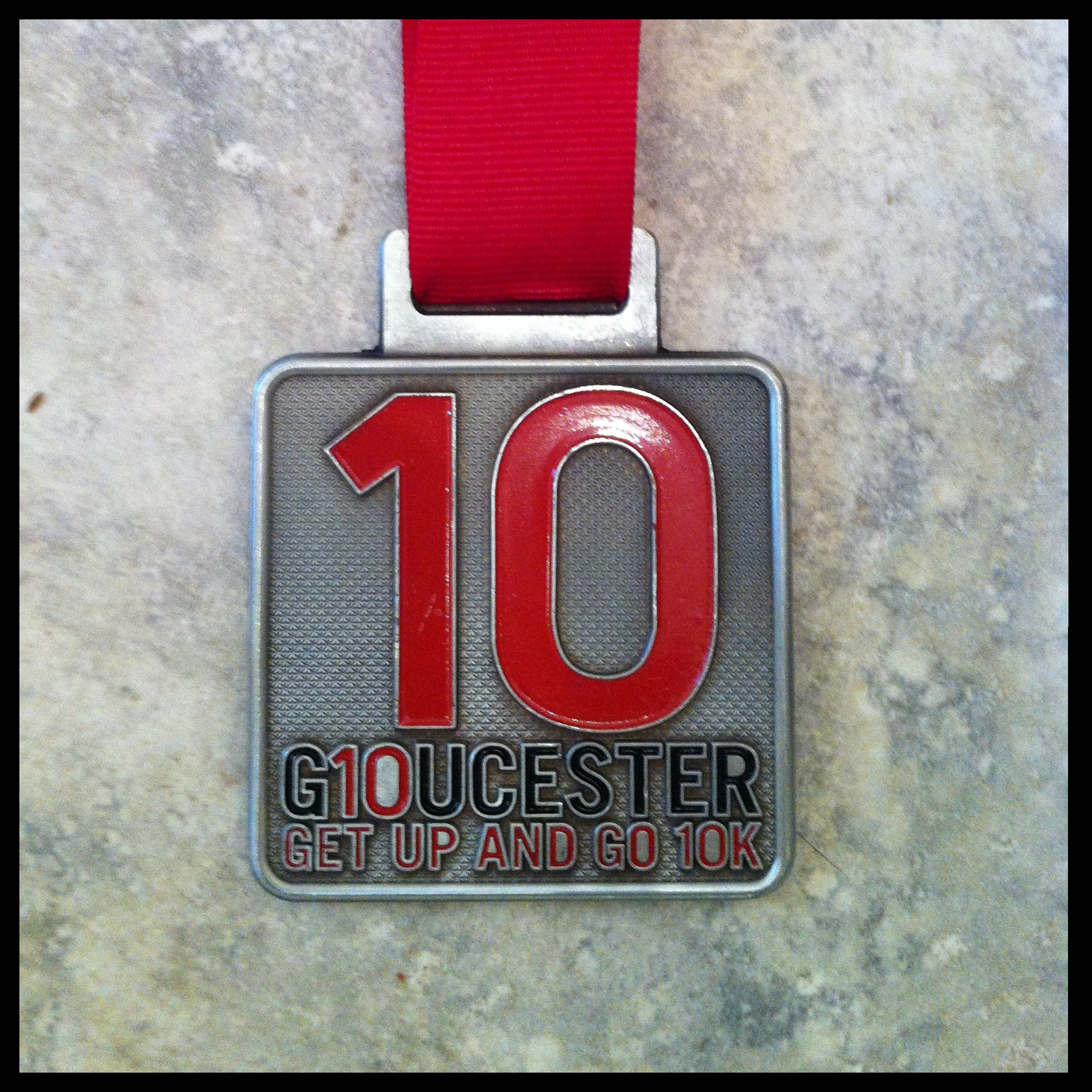 2013 Miles In 2013 – Gloucester 10k, Done!