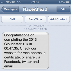 Gloucester 10k Personal Best