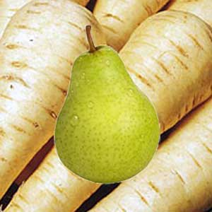 Juicing: Pear and Parsnip Juice