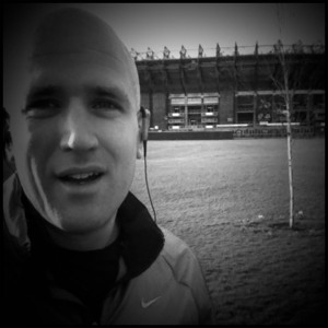 2013 Miles in 2013 - Running at Murrayfield Edinburgh