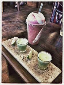 Ginger Shots and the Wimbledon Special at The Core Swindon: Juice Bar & Holistic Lounge