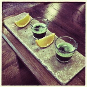 Wheatgrass Shots at The Core Swindon: Juice Bar & Holistic Lounge
