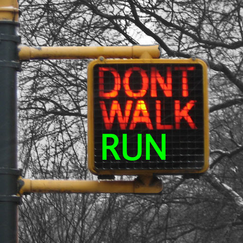 Run With An Idea: Do Real Runners Walk?