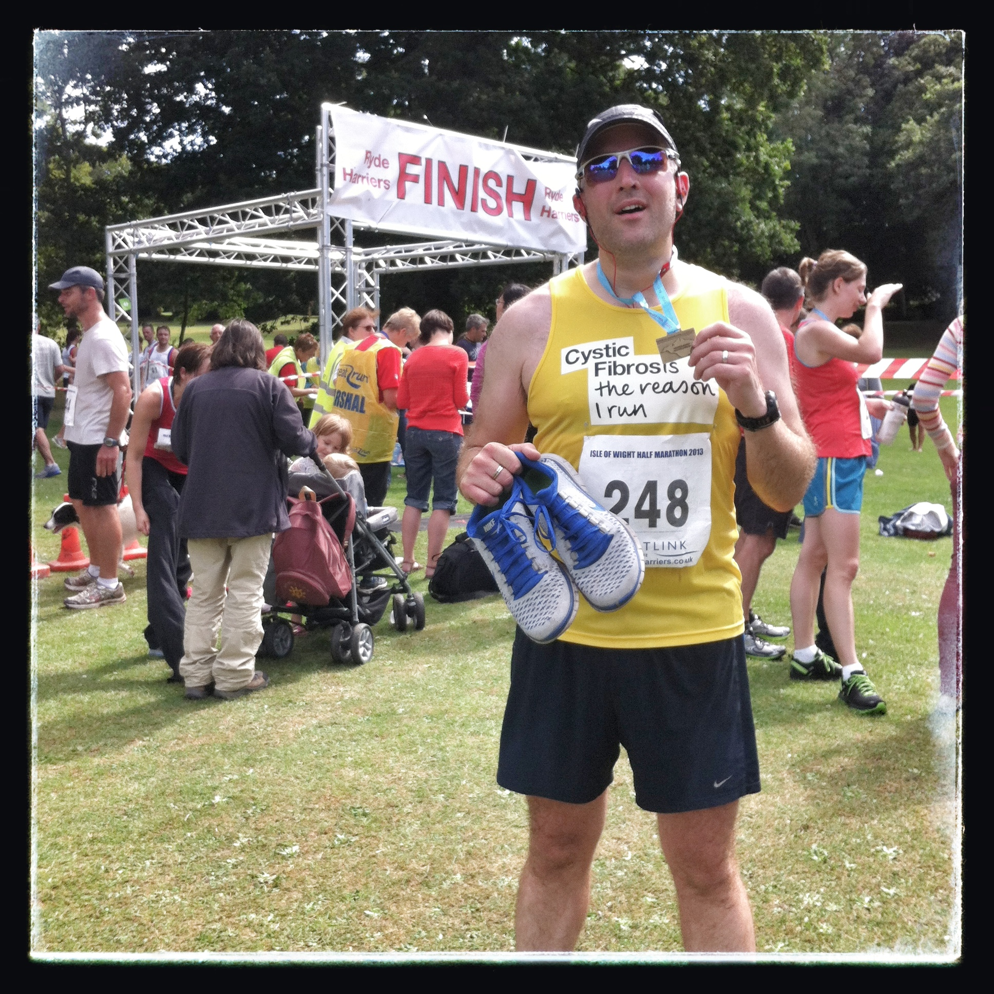 Isle Of Wight Half-Marathon – Done!