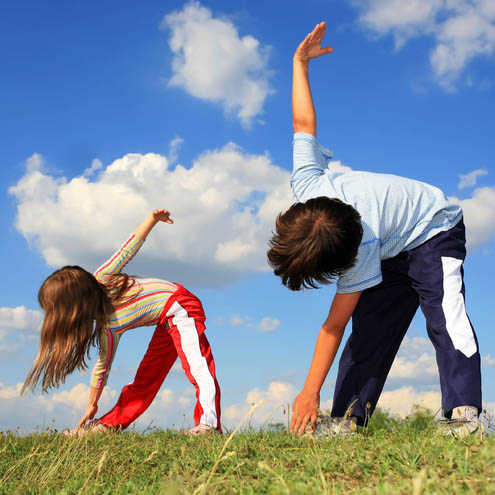 "50 Percent Of Kids ""Need More Exercise"""