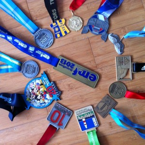 2013 miles in 2013 medals